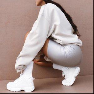 Biker Shorts Women Womens Short Reflective Elastic Bottoms Spandex Overall High Waist Mini Gray Sweatpants