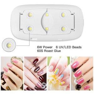 Nail Dryers 6W Portable Mini UV LED Lamp Dryer USB Cable 30s 60s Home Use Gel Polish Lamps