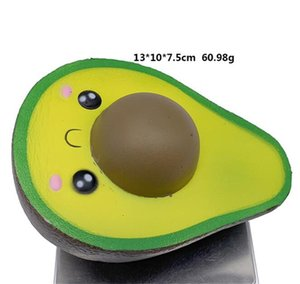 Squeeze ball New Squishies Simulated Avocado Slow Rising Cream Scented Stress Relief Toys Cute Dolls High Quality Squeeze Ball 536 V2