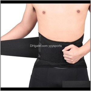 Waist Support Belt Adjustable Compression Lumbar Wrap Brace Protection Exercise Fitness Equipment D0Cyu 2Srdp