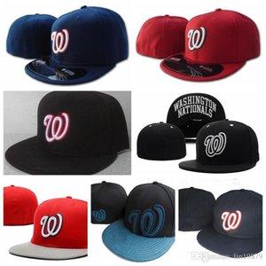 Nationals W Casquettes de baseball Basque Bone Casquette Hip Hop Hop for Hommes Femmes Gorras Chapeug Hats ajustés