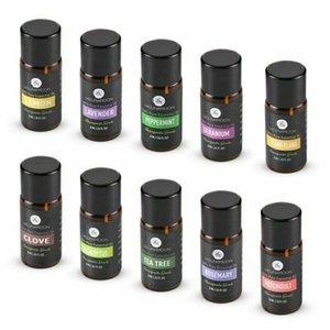 10PCS Set Lagunamoon Pure Premium Essential Oils Gift Set Aromatherapy Fragrance Oils