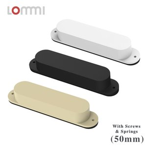 LOMMI No Holes Sealed Single Coil Pickup Middle Electric Guitar Pickup For ST Guitar 50mm