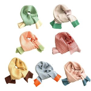 Men's fashion knitted geometric pattern scarf, keep warm winter autumn and in I1X2