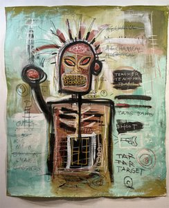 Basquiat - street NYC Oil Painting Home Wall Decor high quality Handpainted or HD Print Art on Canvas Pictures , F210408