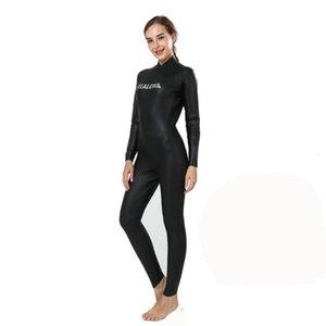 Wetsuit Women 3mm CR Neoprene Smooth Skin Winter Full Body Suit Scuba Diving Snorkeling Swimming Surfing Costumes Children's Swimwear