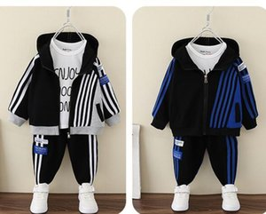 Kids Boys Sets Girls Letter Tracksuit 2pcs Sport Suits (jacket Pant) Outfits Baby Tracksuits Childrens Clothes clothing set