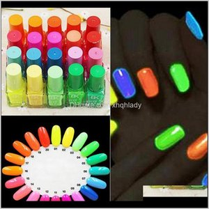 Sell 20 Candy Color Fluorescent Neon Luminous Gel Polish Glow In Dark Nail Varnish Manicure Enamel For Bar Party Za1668 Xyjvc Tkqqe
