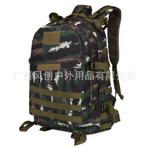 outdoor 3 Jedi Level survival chicken mountaineering camouflage tactics 3D backpack Attack Pack