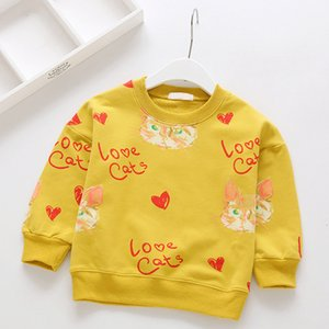 Melario Boys Girls Tops Casual Sweatshirts Children Clothing Girl kids Clothes Long Sleeve Girl Tee Knit Shirts Baby Girl Hoodie 210412
