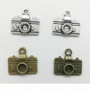 50pcs Lot Mini Camera Alloy Charms Pendant Retro Jewelry Making DIY Keychain Ancient Silver Pendant For Bracelet Earrings Necklace 14*16mm