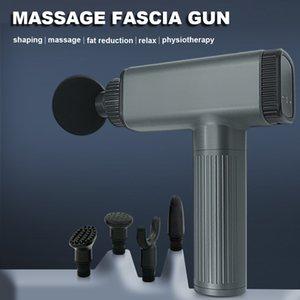 Massageiros elétricos Arma 6 cabeças 30 Velocidade LCD Touch Tela Profundo Tecido Exercício Dor Body Relaxamento Descontrair Desenvolvimento e Produção