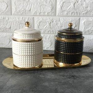 Lady Face Candle Holder Human Jar Candelabra Retro Storage Bin Ceramic Cafts Home Decoration Jewerlly Box Holders