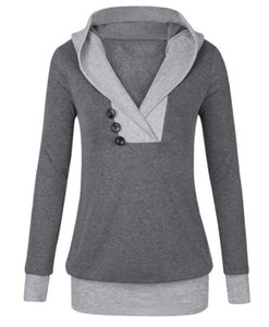 New Pullover long women's Hooded Sweater