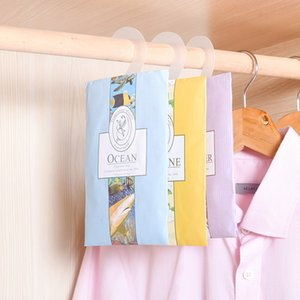 Hangable Car Refreshing Scent Bag Ocean Wardrobe Sachet Air Fresh 9 Kinds Smell Natural Incense Lily drawer Cute skirt
