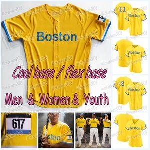 Boston 2021 City Connect Jersey Xander Bogaerts Rafael Devers Alex Verdugo Hunter Renfroe Franchiey Cordero J.D. Martinez Enrique Hernandez Marwin Gonzalez