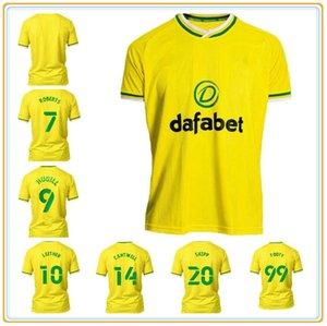 20 21 2 22 22 Norwich Pukki City Higll Soccer Tehersys 2021 2022 Робертс Хернандес Буэндиа Стейперманн Маклин Футбольная футболка