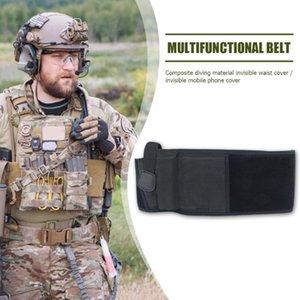 تدريب حزام الرجال في الهواء الطلق الصيد مسدس الحافظة مرونة الخصر أحزمة حزام لسهولة السلامة العمل الحلي الملحقات