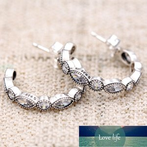 Original Alluring Brilliant Marquise With Crystal Earring For Women 925 Sterling Silver Earring Wedding Gift DIY Europe Jewelry Factory price expert design
