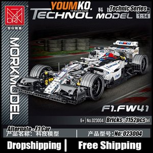 High Tech Series F1 Sports Car Building Blocks 1152pcs Car Simulation 1:14 Model F1 Alternative Bricks Toys Gift