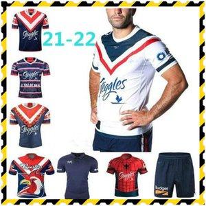 2021 Sydney Roosters Anzac Jersey Indígena de Rugby Jerseys Sydney Roosters Camisas Rugby Sport Nines Shorts
