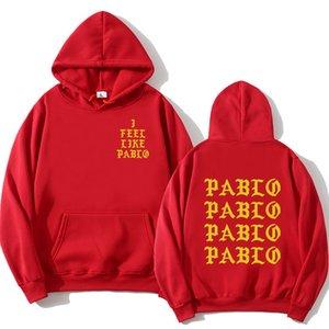 2020 new long sleeve Sweatshirt I feel like Paul Pablo Kanye West hip hop Street Hoodie men's wear