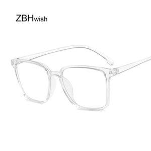 Occhiali vintage retrò Donne Clear Lens Quadrato Nerd Glass Frame Attraente Partito Eyewear Selfie Pose Lady Soild Glasses