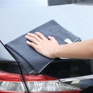 Pcs Car Washing Towel Glass Cleaning Water Drying Microfiber Window Clean Wipe Detailing Waffle Weave