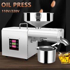 Household Oil Press Intelligent Stainless Steel Small Peanut Pressers