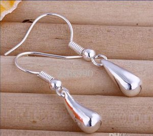 Hot new fashion 925 Silver Earrings Ladies Accessories dff0766