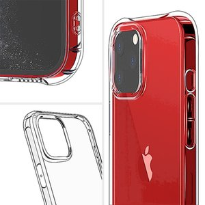 Suitable for Iphone 12 series ultra-thin shock-proof and pollution-proof mobile phone protective shell