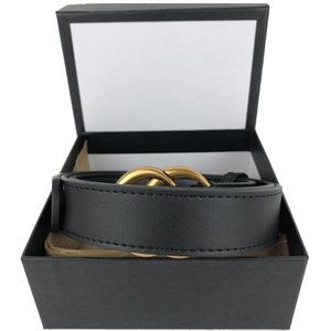 Men Designers Belts Fashion Genuine Leather womens mens Letter Double G buckle belt cinturones de diseño mujeres width 3.8cm with box