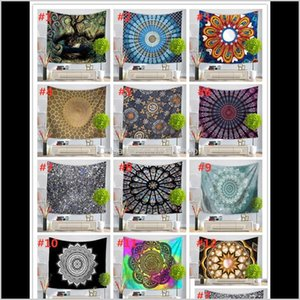 Tapestries 51 Design Mandala Tapestry Wall Hanging Mural Yoga Mats Beach Towel Picnic Blanket Sofa Cover Party Backdrop Wedding Home D Po7Ez