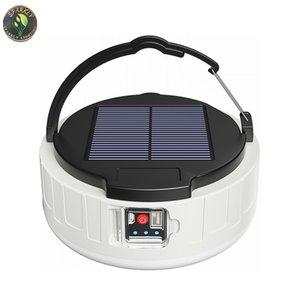 Açık Gece Pazarı Lamba Ev LED Ampul Güç Arızası Acil Hafif Güneş Şarj Edilebilir Aydınlatma Mobil Kamp Işıkları ile Pothook ve Uzaktan Kumanda