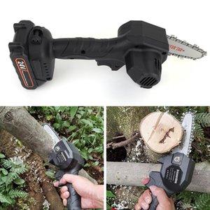 EUA Stock 24v 550w mini uma mão viu madeira moedas de madeira cortador de madeira sem fio