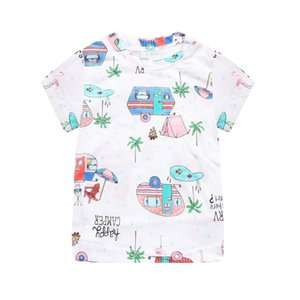 Summer baby children's tops children's cartoon short-sleeved T-shirts foreign trade children's clothing men and women baby bot 661 Y2