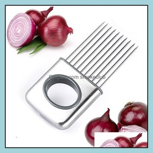 Fruit Kitchen, Dining Bar Home & Gardeneasy Onion Holder Slicer Vegetable Tools Tomato Cutter Stainless Steel Kitchen Gadgets No More Stinky
