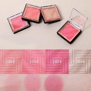 Blush Cheek Blusher Easy To Makeup Not Sticky Brighten Fine Silky Powder Women Cosmetic V9-Drop