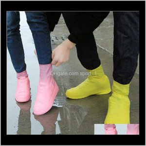 Other Home Garden Latex Waterproof Covers Anti Water Disposable Slipresistant Rubber Rain Boot Overshoes Shoes Accessories 1O0Wf Gv2Si