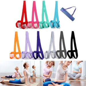 Wholesale Adjustable Yoga Mat Strap Sling Carrier Shoulder Belt Exercise Sports Gym X85 Resistance Bands