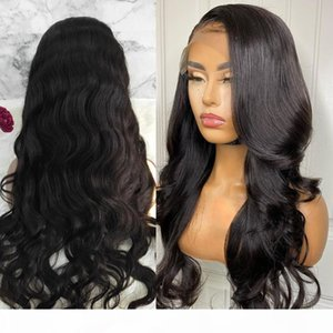 WIGIRL Body Wave 28 Inches 5x5 Lace Closure Wig HD Lace Frontal Wig Pre Plucked 150 Density Natural Color Hair Wigs For Women