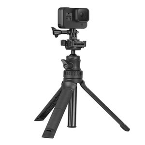 Selfie Monopods 3 In 1 Stand Holder Foldable Stick Mini Tripod Expandable Monopod For IOS Android Action Camera  Micro Single 360°