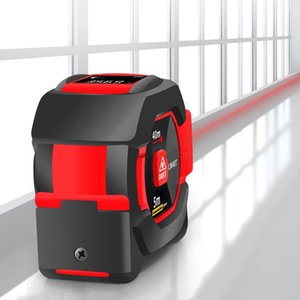 Laser Measuring Tape Measure 40M Digital Distance Meter Rangefinder Retractable 5m Ruler Trena