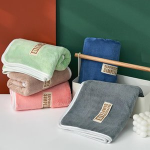 Towel Absorbent Shower Face Coral Velvet Soft Quick Drying Comfort Breathable Beach For Traveling Bathroom Gym