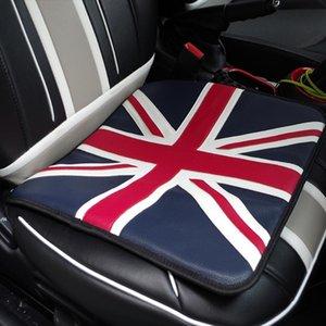 Capas de assento de carro Union Jack PU Couro almofada de almofada de almofada para mini cooper JCW One S R55 R56 R58 R59 R61 F54 F55 F56 F50