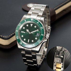 Мужские часы Лучшие автоматические механические 41 мм роскошные из нержавеющей стали из нержавеющей стали Sapphire светящийся дайвинг 50 м