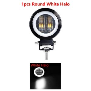 Motorcycle Car LED Light White Blue Red Stainless Steel With Screws Working