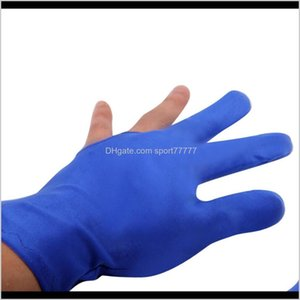 Athletic Outdoor As Sports & Outdoors Drop Delivery 2021 Gloves Spandex Snooker Billiard Cue Glove Pool Left Hand Open Three Finger Aessory F