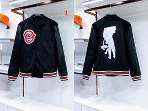 2021 도매 - 폭격기 재킷 디자이너 가을 남자 코트 캐주얼 야외 스포츠웨어 농구 패션 고급스러운 망 재킷 및 코트 여성 가죽 옷