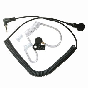 FBI Stil Akustik Kapak Tüp Dinle Sadece Motorola RLN4941 PMMN4059 PMMN4069 Hoparlör 3.5mm Fiş Jack Radyo Walkie Talkie Aksesuarları